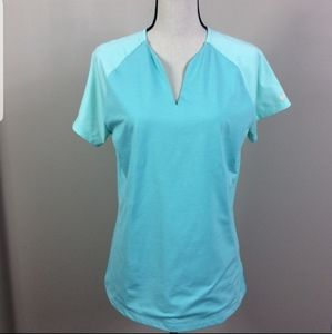 Nike Dry-Fit Teal Golf Tour Performance To…